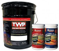 TWP 100 Series Deck Stain 5 Gallon and Gemini Cleaner/Brightener Kit