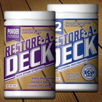 Restore A Deck Stain Stripper and Brightener Kit